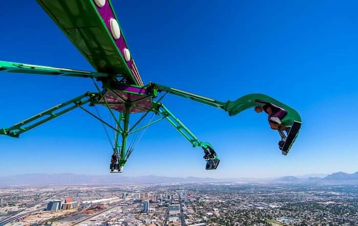 Insanity Ride at The Stratosphere Tower Vegas