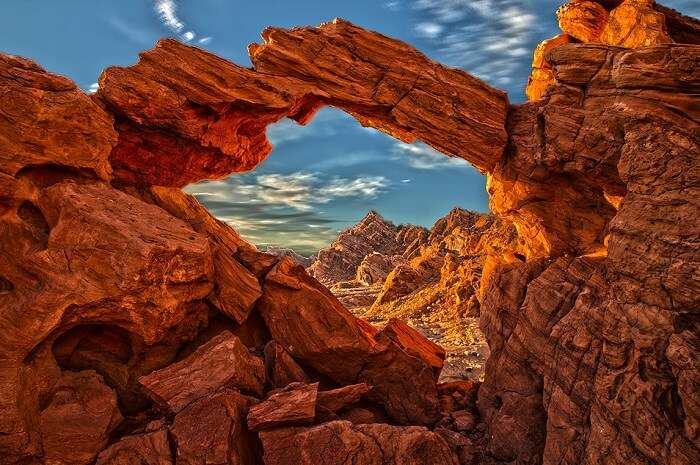 The Valley of Fire, Las Vegas