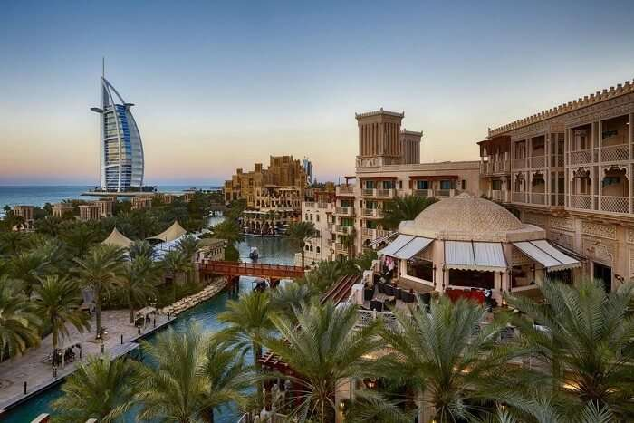 Al Qasr at Madinat Jumeirah in the city of Dubai