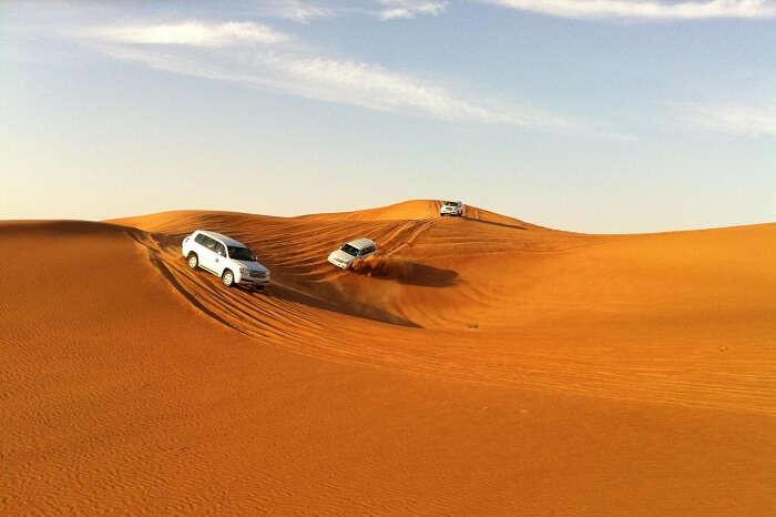 4x4 desert safari Dubai