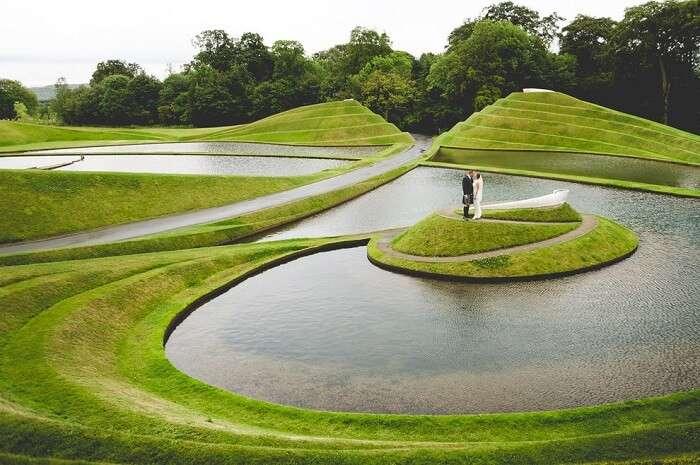 Wedding Photography in Jupiter Artland Scotland