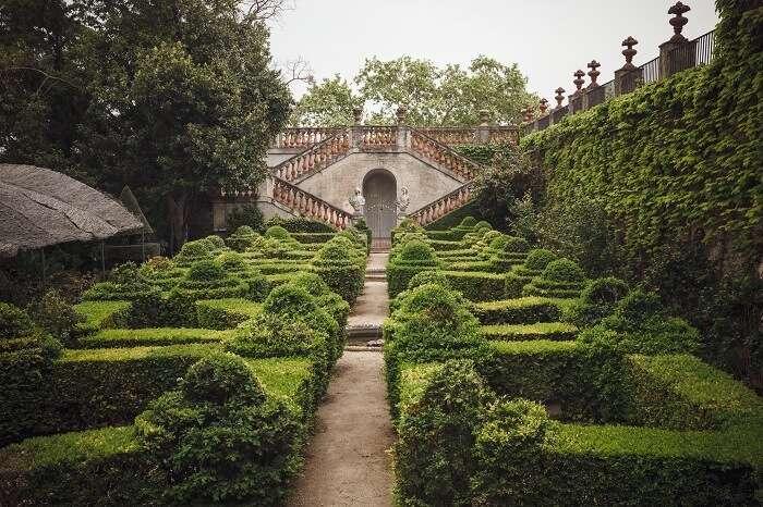 Parc del Laberint d'Horta, Barcelona, Spain