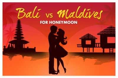 Bali or Maldives for honeymoon