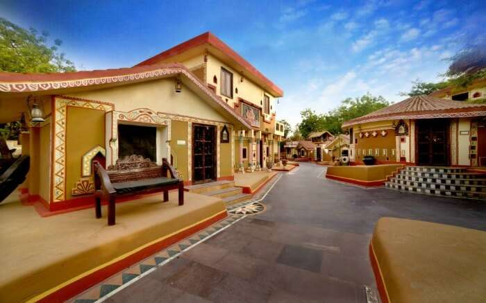 Chokhi Dhani Village Resort in Jaipur