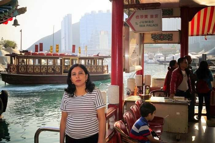 Sudip wife in Hong Kong