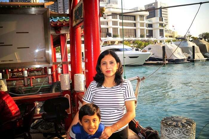 Sudips wife in Hong kong