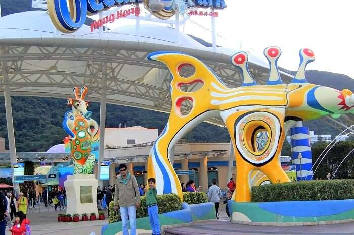 Ocean park tour in Hong kong