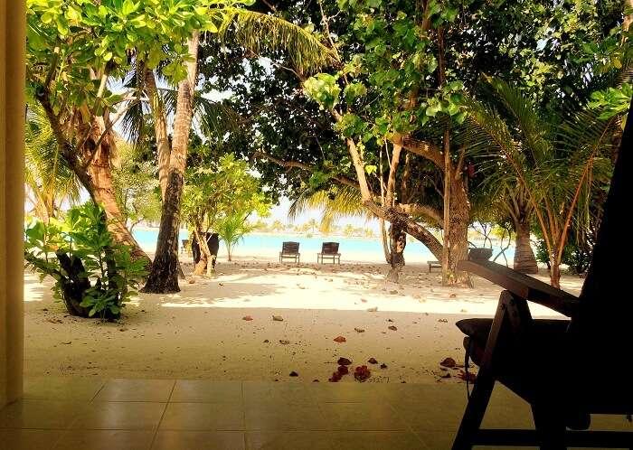 hotel resort in Maldives