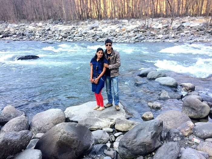 Tourists in Manali