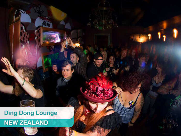 Ding Dong Lounge in New Zealand