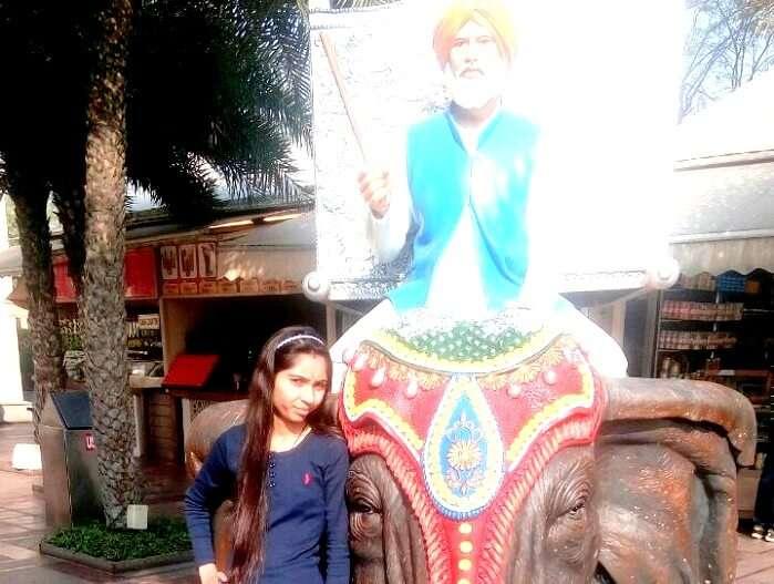 Solo traveler in Punjab