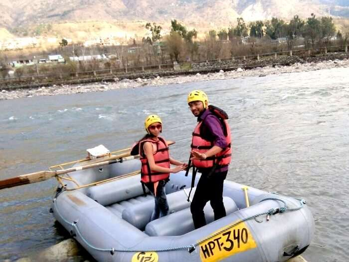 rafting near Manali