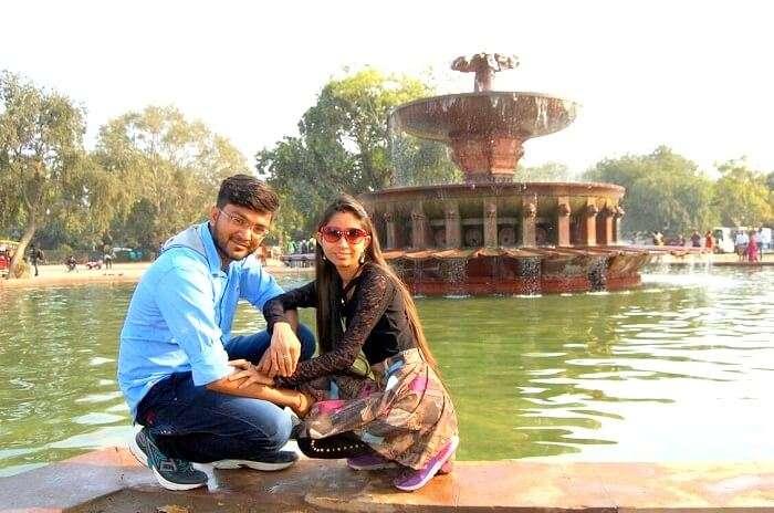 Tourists in Delhi