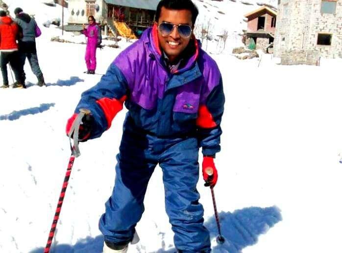 Tourist near shimla