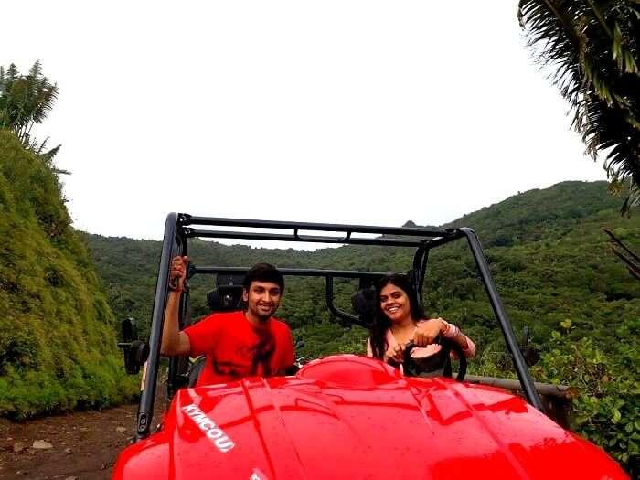 Drive in Mauritius