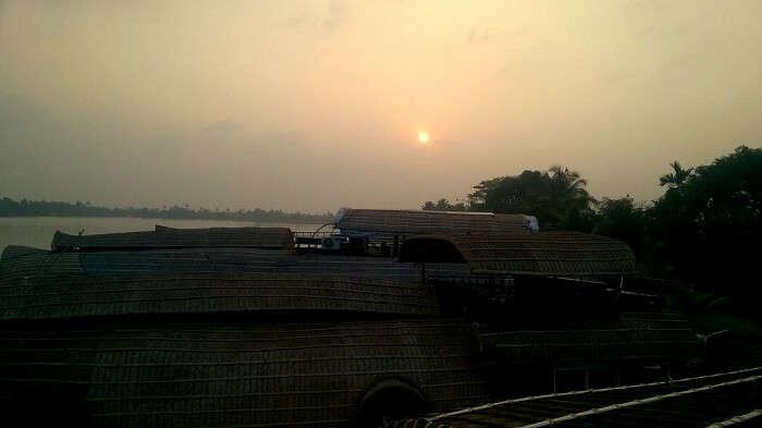sunset alleppey