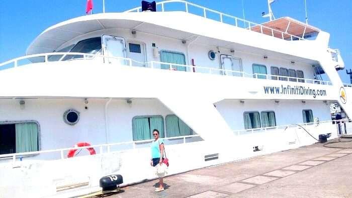 Cruising in Port Blair