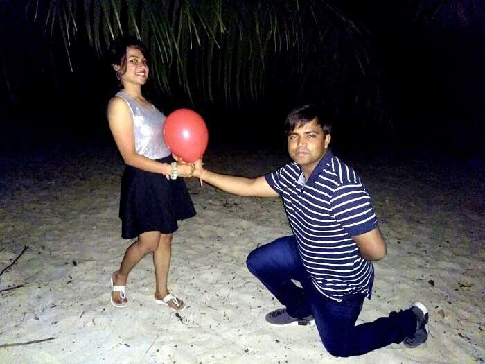 Romance in Andaman