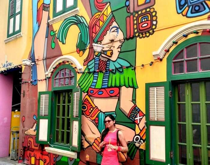 beautiful artwork in arab street