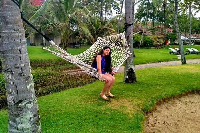 lush green landscape of Bali