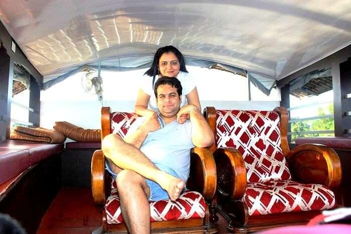 Houseboat cruise in Kerala