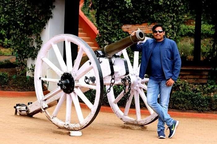 Tourist in Mysore