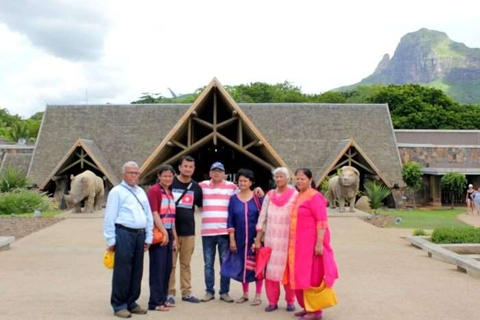 Family trip to Casela Nature Park Mauritius