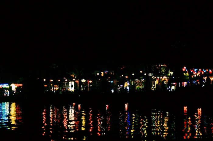 It's a beautiful night life in Hoi An