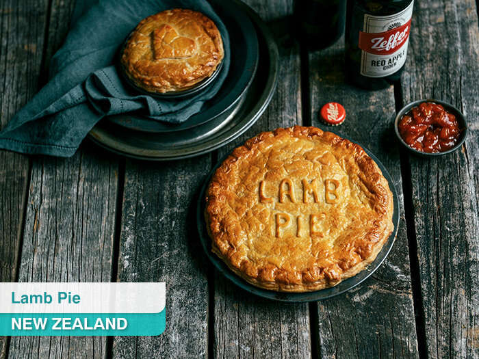 Lamb Pie in New Zealand