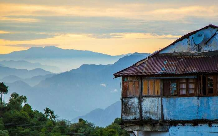 A rustic building in Landour