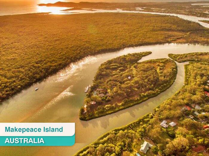 Makepeace Island in Australia