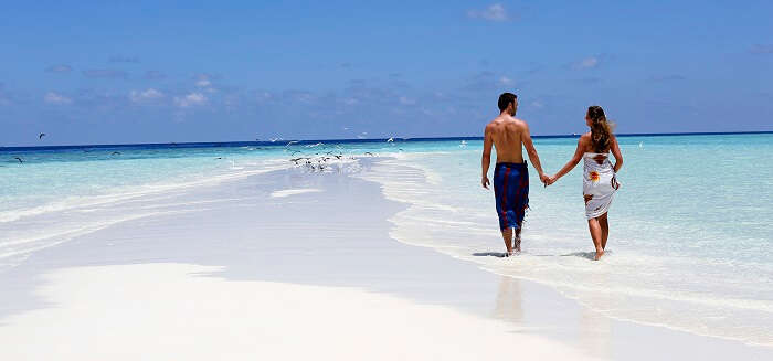 Beaches on Nika island maldives