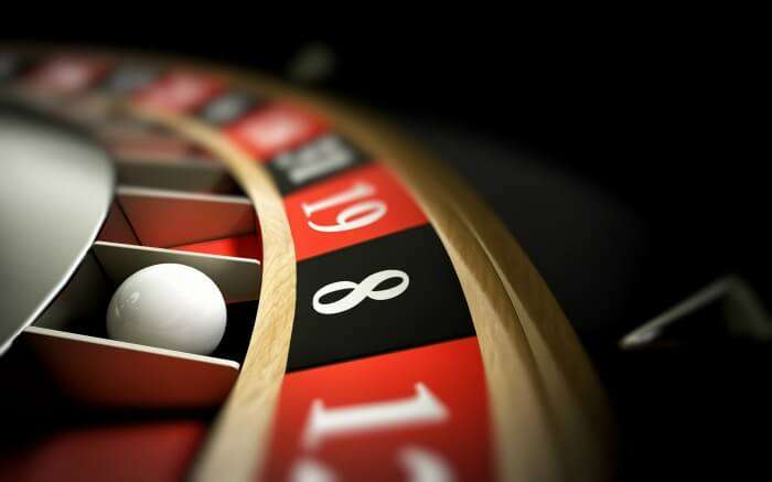 Shot of a roulette
