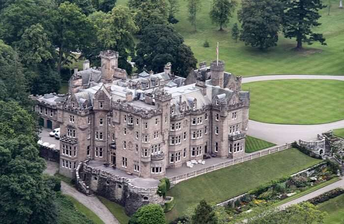 Skibo Castle in  Scotland