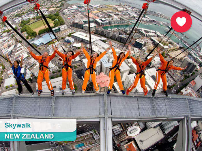 Skywalk in New Zealand