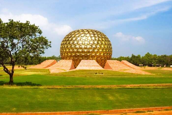 Spend a day at Auroville