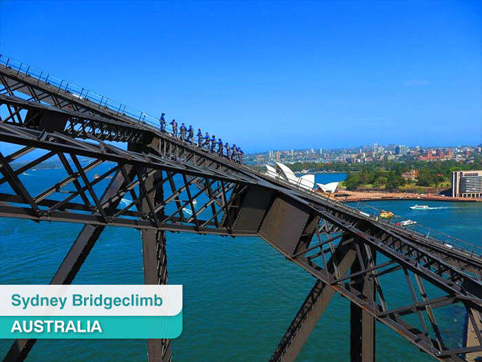 Sydney Bridgeclimb in Australia