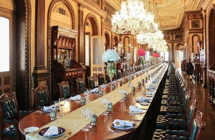Dining Table of Palace