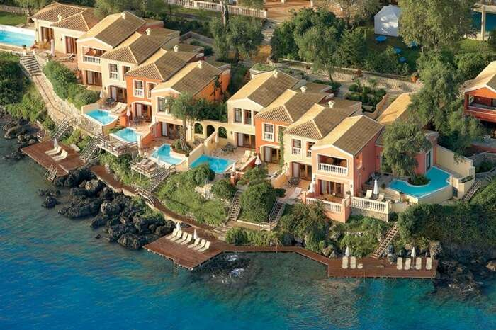 A view of Corfu Imperial in Corfu in Greece