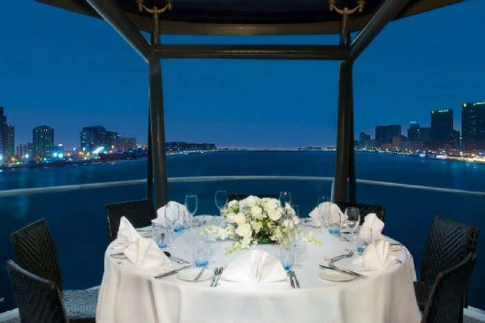 Romantic dinner cruise on The Bateaux in Dubai