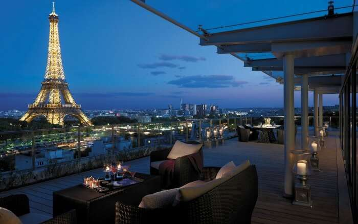 View from Shangri La Paris