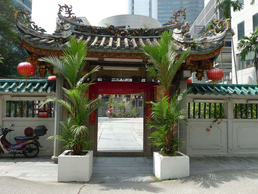 temple of love in Singapore
