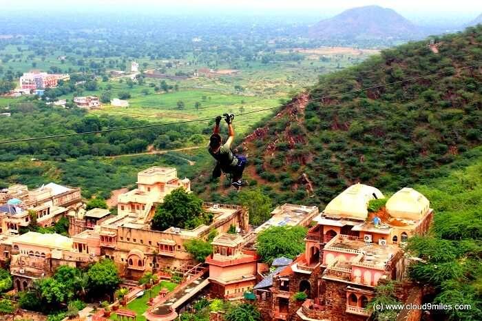 adventure activities in neemrana