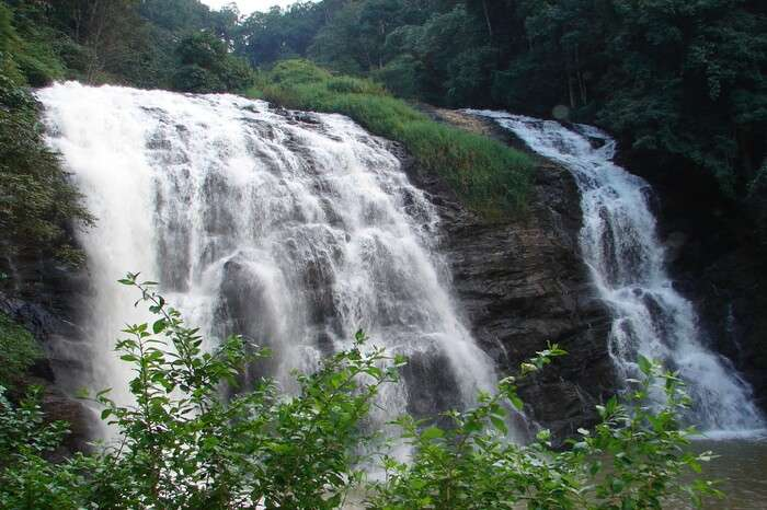 Burude waterfall in Coorg Karnataka