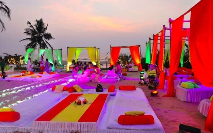 Wedding in Leela Goa