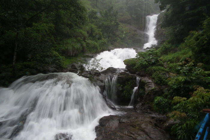 Iruppu waterfalls in Coorg Karnataka