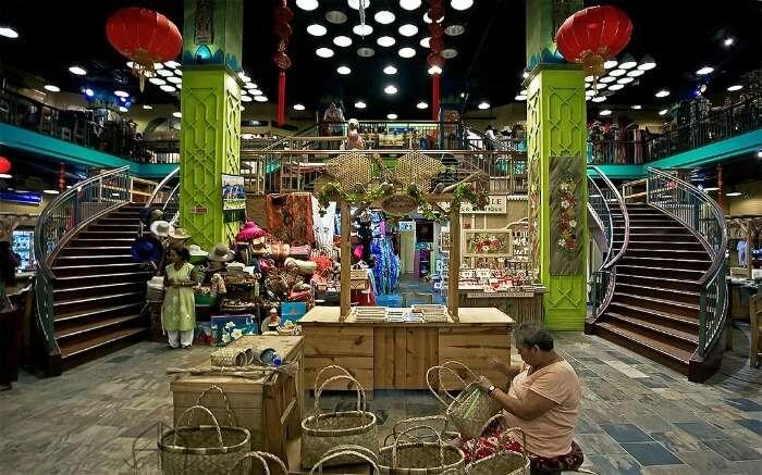 A shop in Curepipe Mauritius