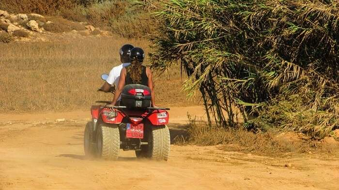 quad biking coorg