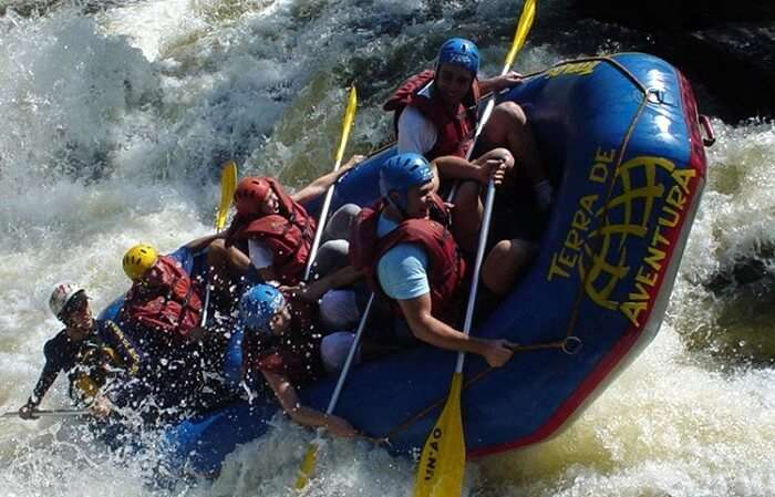 river rafting coorg