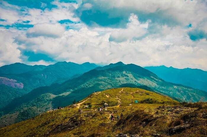 breath taking view of Ponmudi